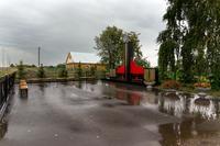 Мемориальный комплекс, посвященный участникам Великой Отечественной войны. с.Большие Тиганы. 2014