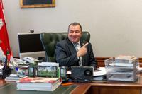Фото. Зарипов Наиль Шамилович (1955) - Глава Черемшанского муниципального района. 2014