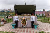 Парк Победы. с. Черемшан. 2014
