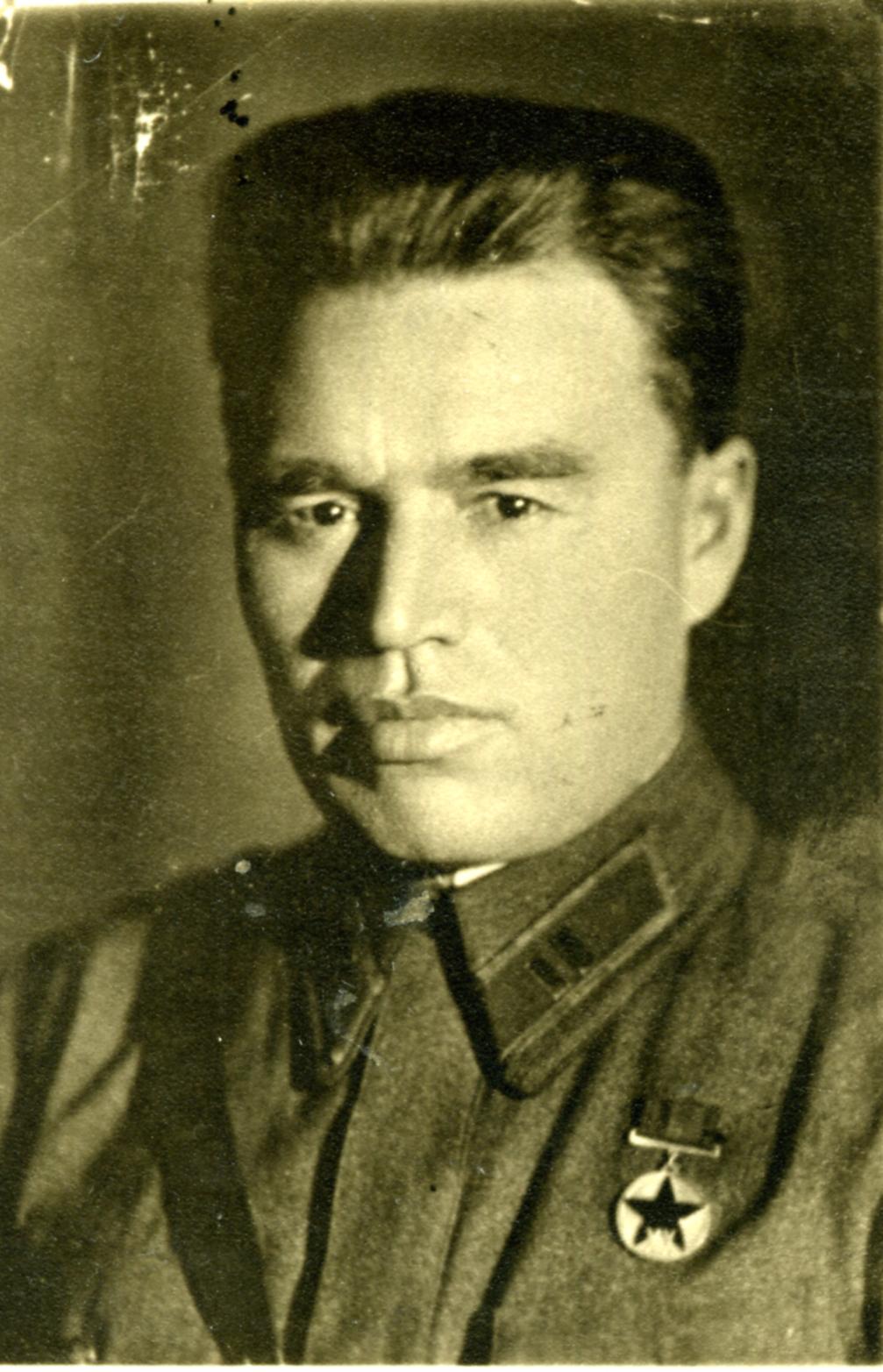 Майор П.М. Гаврилов – легендарный защитник Брестской крепости. 1941 ©Tatfrontu.ru Photo Archive