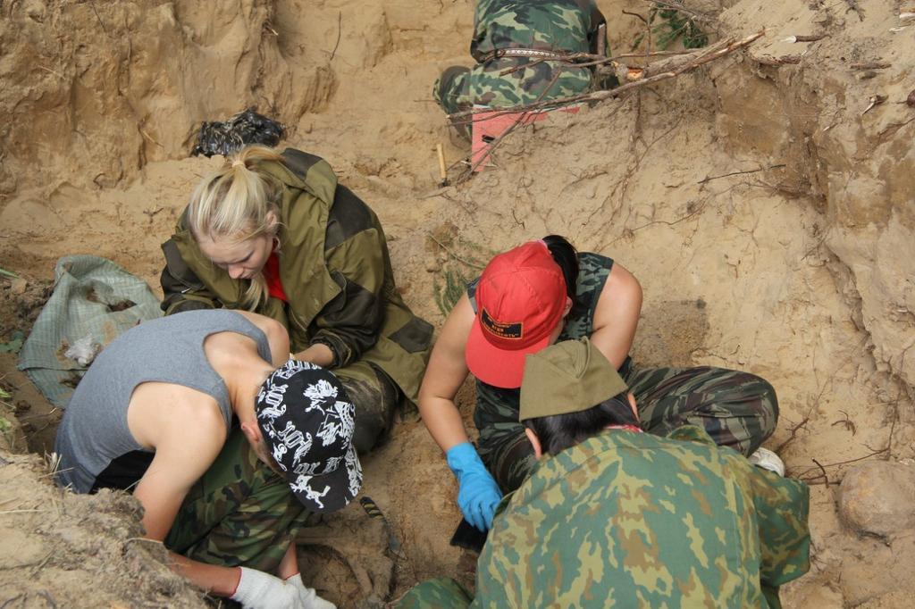 Экспедиция по поиску и захоронению погибших солдат ©Tatfrontu.ru Photo Archive
