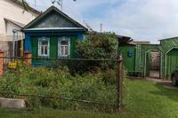 Фото. Вид деревянного жилого дома. п.г.т.Алексеевское. 2014. удалить