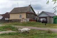 Фото. Вид кирпичного жилого дома. п.г.т.Алексеевское. 2014. удалить