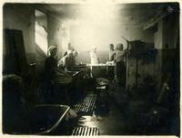 Фото. Прачечная на заводе № 230. 1942