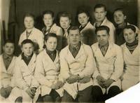 Фото. Бригада мастера Кошлева И.М.1940-е