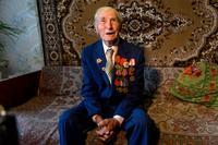 Фото. Козлов В.П. (1918 г.р.) - участник Великой Отечественной войны. 2014 удалить