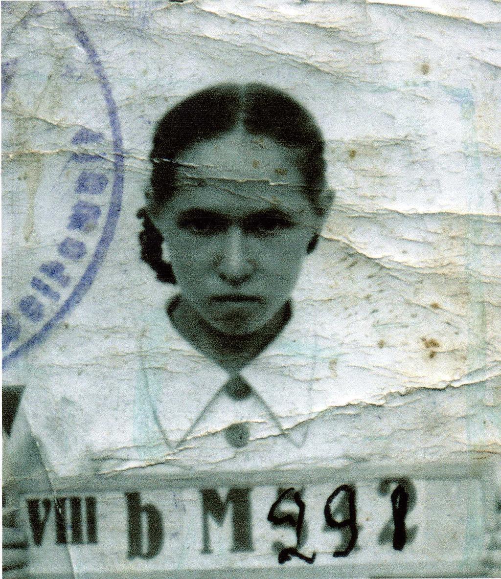 Фото №89856. Фото. Серебрякова М. А. Концлагерь г. Волковыска. 1943