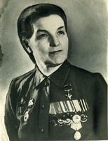 Фото.Герой Советского Союза - Сыртланова М. Г. 1950-е