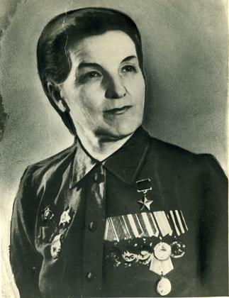 Фото №89904. Фото.Герой Советского Союза - Сыртланова М. Г. 1950-е