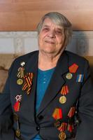 Фото. Грачева (Баркевич) Е.П. (1921 г.р.) - участница Великой Отечественной войны. 2014 удалить