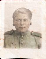 Фото. Грачева (Баркевич) Е.П. (1921 г.р.) - участница Великой Отечественной войны. 1940-е годы