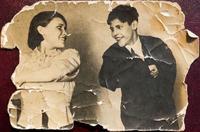 Фото. Грачева (Баркевич) Е.П. (1921 г.р.) - участница Великой Отечественной войны на сцене. 1930-е годы уда