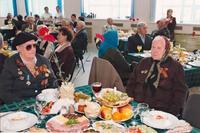 Фото. Встреча ветеранов - участников Великой Отечественной войны. п.т.г.Алексеевское. 2010-е годы