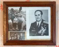 Фотоколлаж Красавина М.В. и его семьи. 1960-1970-е