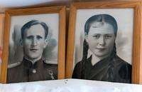 Фото. Красавин Михаил Васильевич, Красавина Вера Андреевна. 1940-е