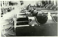 Фото. В сборочном цехе фюзеляжей для самолетов ПО-2 на заводе №387. 1943
