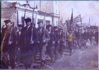 Фото. Первомайская демонстрация в Лаишеве. 1942