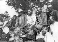 Фото. Читка сводки Информбюро .1941