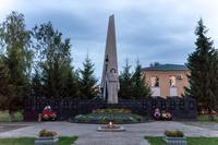 Мемориальный комплекс погибшим в годы Великой Отечественной войны. п.г.т.Алексеевское. 2014