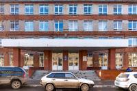 Фасад  здания Казанского электротехникума связи по ул. Галеева,3А, где находится Музей истории связи РТ